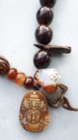 jade amulet en bodhi kralen